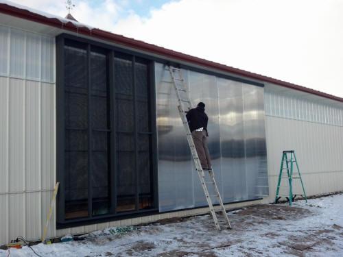 Choice Energy Solar Air Heating Johnson Rd